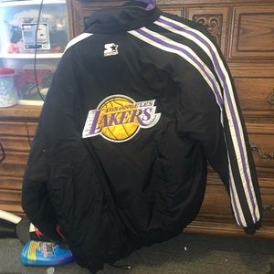 Starter Lakers jacket vintage size medium men's